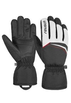 Reusch - Fingerhandschuh - white / fire red / black