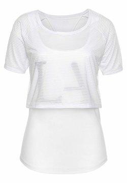LASCANA Active - Funktionsshirt - weiß