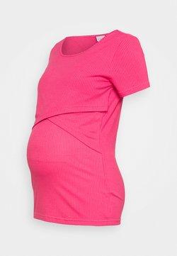 MAMALICIOUS - MLISABELLA - Camiseta básica - hot pink