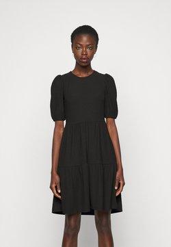 ONLY Tall - ONLNELLA SHORT DRESS - Vestido de punto - black