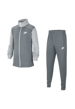 Nike Sportswear - CORE FUTURA SET - Survêtement - smoke grey/light solar flare heather/white/white