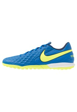 Nike Performance - TIEMPO LEGEND 8 ACADEMY TF - Fotbollsskor universaldobbar - soar/midnight navy/barely volt/volt