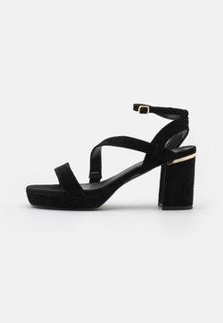 Anna Field Wide Fit - Sandalen met hoge hak - black