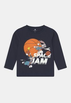 Name it - NMMSPACEJAM ARNE  - Camiseta de manga larga - dark sapphire