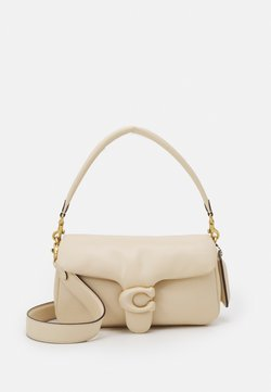 Coach - COVERED CLOSURE PILLOW TABBY SHOULDER BAG - Handtasche - ivory