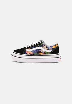 Vans - SUPER COMFYCUSH OLD SKOOL - Sneakers - tropicali black/true white