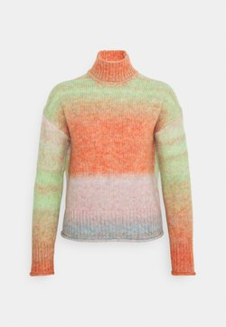 ONLY - ONLGRACE HIGHNECK  - Maglione - pink nectar/multicolor
