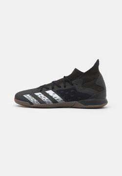 adidas Performance - PREDATOR FREAK .3 IN - Botas de fútbol sin tacos - core black/footwear white