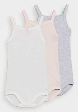 Petit Bateau - BRETELLE 3 PACK - Body - white/pink/grey