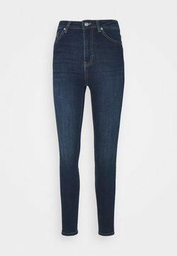 NA-KD - HIGH WAIST - Jeans Skinny Fit - dark blue