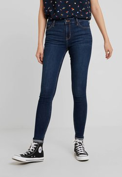 Hollister Co. - MEDIUM RISE SUPER - Jeans Skinny Fit - dark