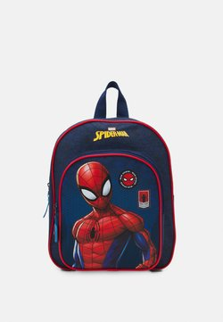 Kidzroom - BACKPACK SPIDER MAN BE STRONG UNISEX - Ryggsäck - navy