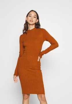 Even&Odd - Vestido de tubo - brown