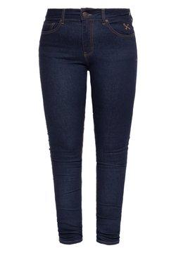 Queen Kerosin - SLIM FIT BETTY - Slim fit jeans - dunkelblau