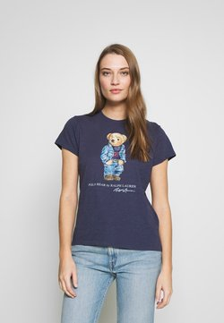 Polo Ralph Lauren - BEAR SHORT SLEEVE - Print T-shirt - classic royal