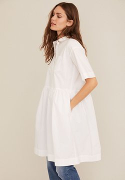 Part Two - Vestido camisero - bright white