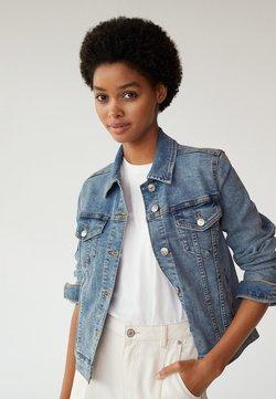 Mango - VICKY - Veste en jean - bleu moyen