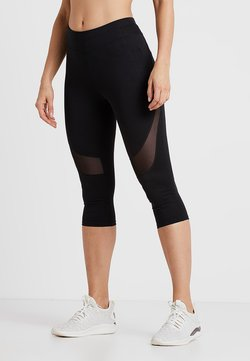 Even&Odd active - 3/4 Sporthose - black