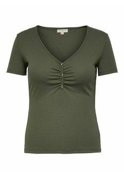 ONLY Carmakoma - T-Shirt print - kalamata
