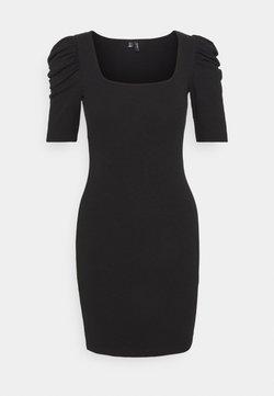 Vero Moda Petite - VMMINNIE SQUARE DRESS - Vestido de tubo - black