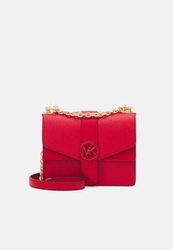 MICHAEL Michael Kors - GREENWICH XBODY - Across body bag - bright red