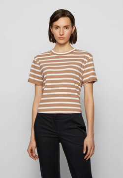 BOSS - ESPRING - T-Shirt print - beige