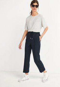 Next - POCKET SHORT SLEEVE  - T-Shirt print - dark blue