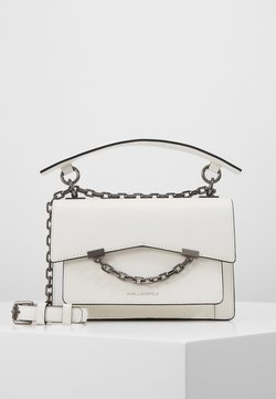 KARL LAGERFELD - SEVEN SHOULDERBAG - Torebka - white