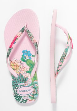 Havaianas - SLIM FIT SENSATION - Varvassandaalit - crystal rose