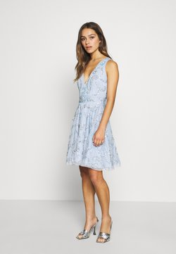 Lace & Beads Petite - AMARIS DRESS - Cocktailkleid/festliches Kleid - light blue
