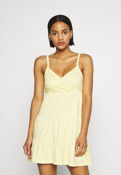 Hollister Co. - BARE DRESS - Jerseykleid - yellow