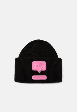 CHIARA FERRAGNI - PATCH BEANIE - Mütze - black
