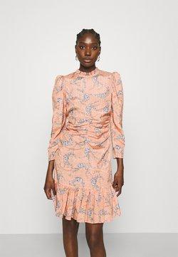 byTiMo - DELICATE GATHERS DRESS - Freizeitkleid - pink