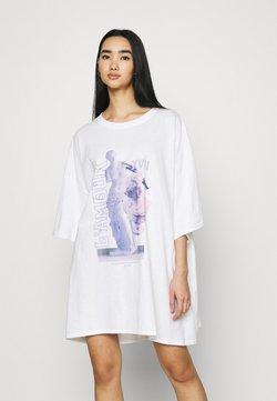 Missguided - LAMOUR STATUE DRESS - Vestido ligero - white