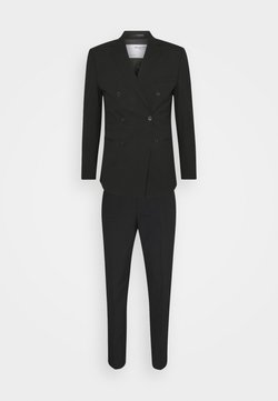 Selected Homme - SLHSLIM MAZELOGAN SUIT - Puku - black