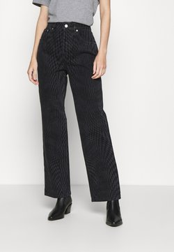 Topshop - WARP RUNWAY - Jeans Relaxed Fit - black