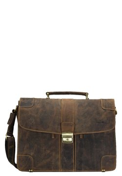 Greenburry - VINTAGE - Aktentasche - brown