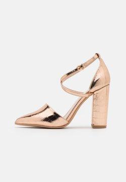 RAID Wide Fit - WIDE FIT KATY - High Heel Pumps - rose gold