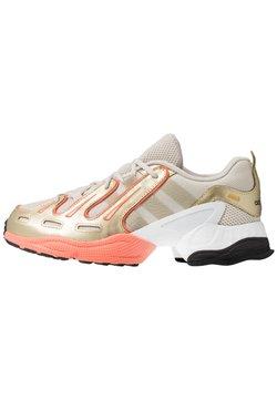 adidas Originals - EQT GAZELLE - Baskets basses - clear brown/raw gold/semi coral