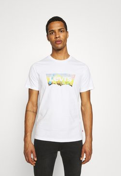 Levi's® - HOUSEMARK GRAPHIC TEE UNISEX - Camiseta estampada -  white