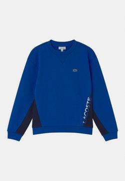 Lacoste - LOGO BLOCK  - Sweatshirt - lazuli/navy blue