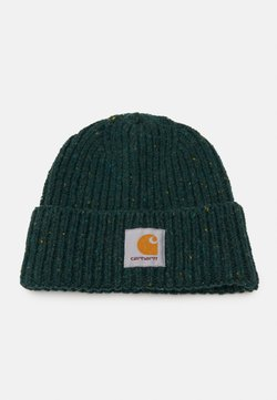 Carhartt WIP - ANGLISTIC BEANIE  - Czapka - bottle green heather