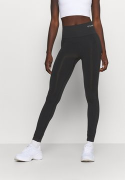 Hummel - SEAMLESS HIGH WAIST  - Medias - black
