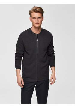 Selected Homme - SLHROCKY  - Cardigan - anthracite