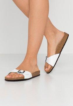 Geox - BRIONIA - Pantolette flach - white