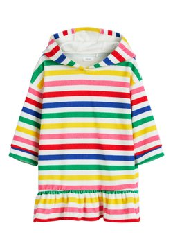 Next - MULTI STRIPE TOWEL DRESS - Bademantel - white
