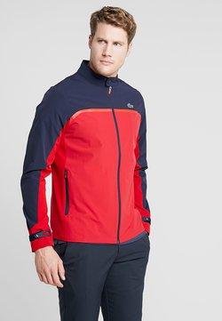 Lacoste Sport - Softshelljacke - tokyo red/navy blue/flash