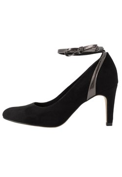Tamaris - Klassieke pumps - black/pewter metallic