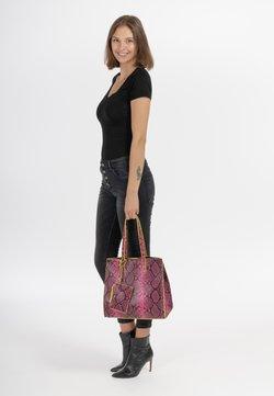 Emily & Noah - LINA - Shopper - black/pink 167