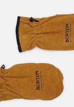 Burton - WORKHORSE RAW HIDE - Fäustling - light brown